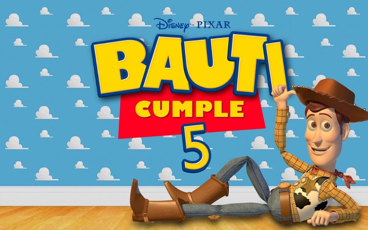 Tarjeta Video Invitacion Cumpleaños Toy Story Animada