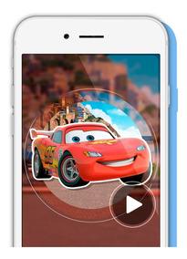 Tarjeta Video Invitación Digital Cumpleaños Cars