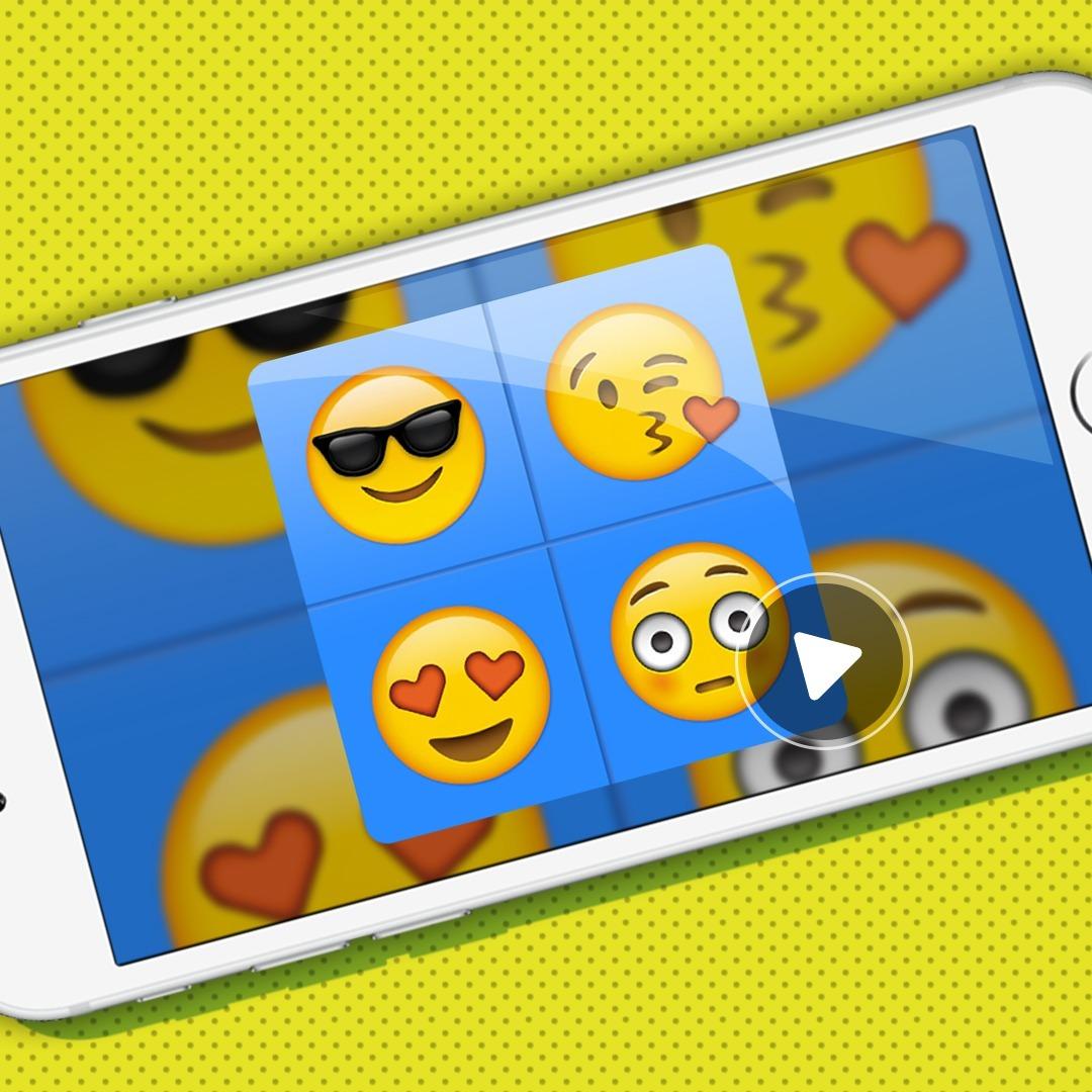 Tarjeta Video Invitación Digital Cumpleaños Emoji