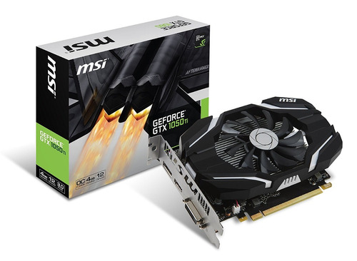 tarjeta video msi gtx 1050 ti 4gb ddr5 128 bits