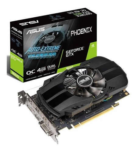 tarjeta video nvidia geforce gtx 1650 4gb ddr5 asus 1050ti 6