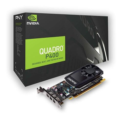 tarjeta video pny nvidia quadro p400 2gb ddr5 64 bit