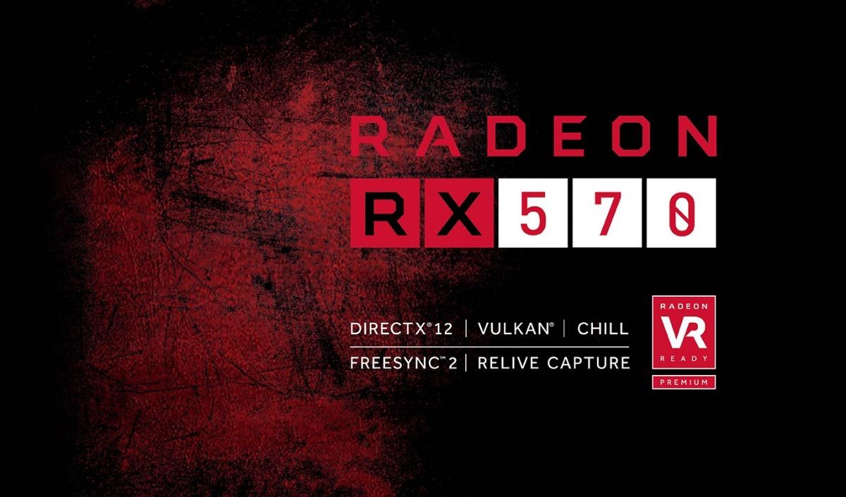 PowerColor RED DRAGON RADEON RX 570 DirectX 12 AXRX 4GBD5-3DHD//OC 4GB 256-bit