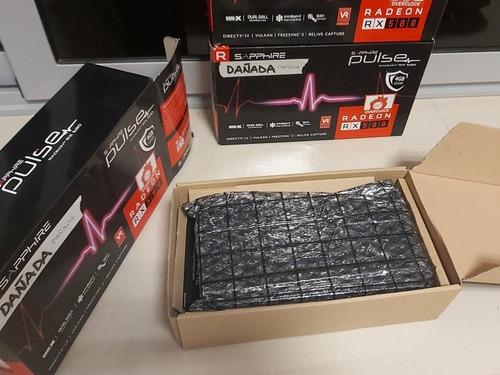 tarjeta video sapphire pulse amd radeon rx-580 4gb gddr5