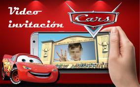 Tarjeta Videoinvitación Cumpleaños Cars Promocion