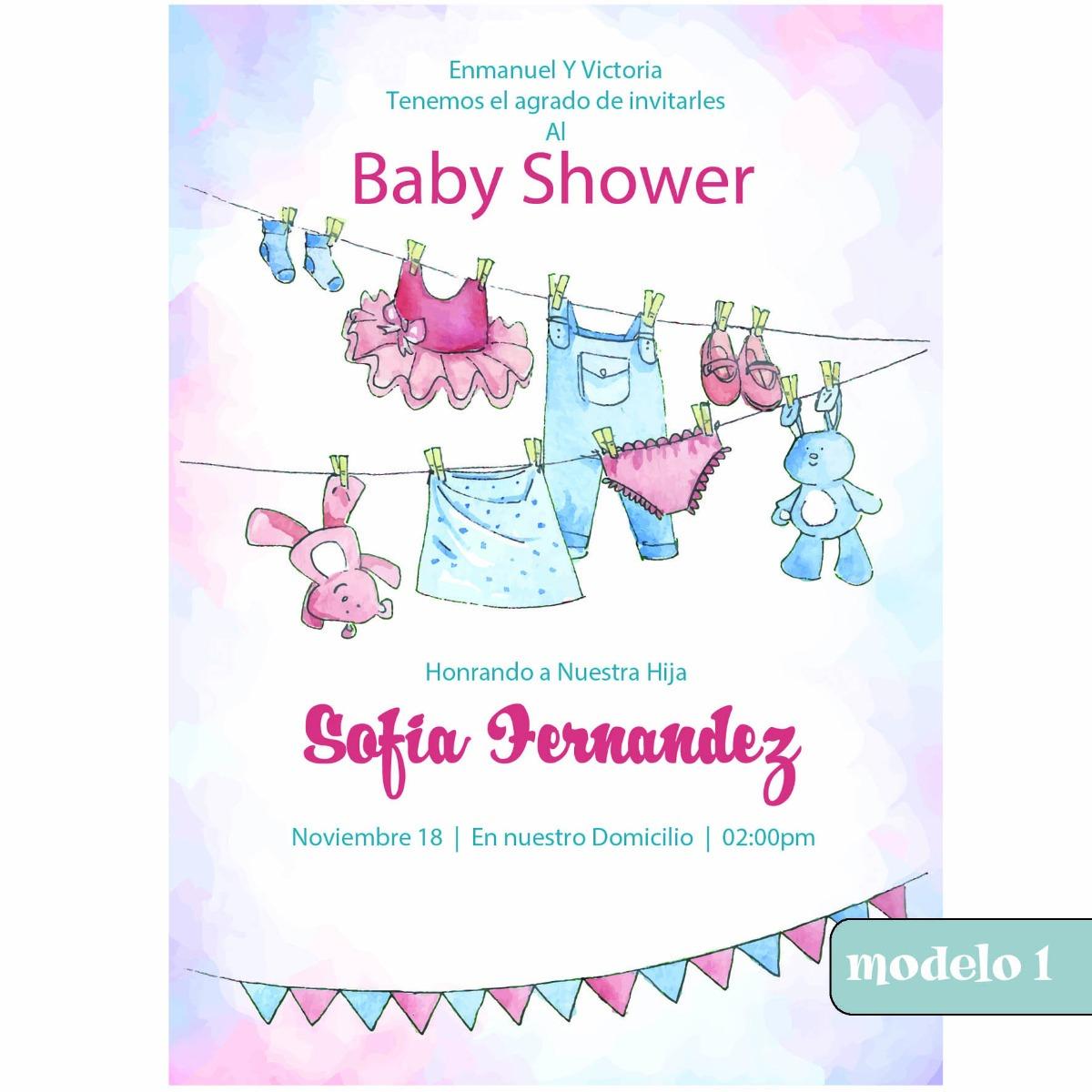 daa26aebcb24c tarjeta virtual para baby shower. Cargando zoom.