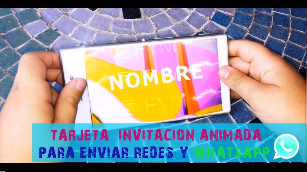 Tarjeta Virtual Video Invitación Cumpleaños Lol Unicornios