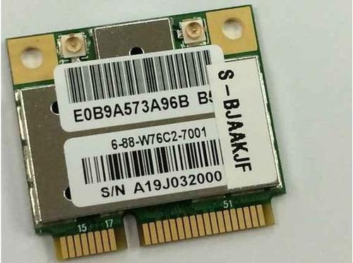 tarjeta wifi azurewave rtl8191se pci express minicard b/g/n.