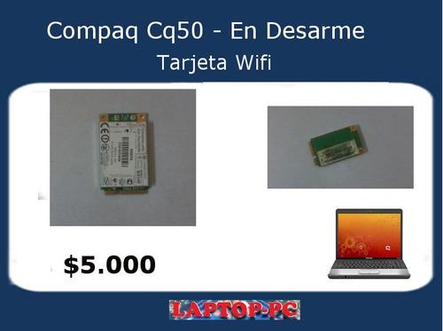tarjeta wifi compaq cq50 101la en desarme