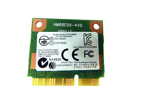 tarjeta wifi inalambrica ralink rtl8188ee p/ laptop hp 14w