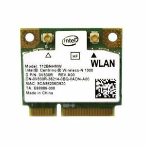 tarjeta wifi intel centrino wireless n1000