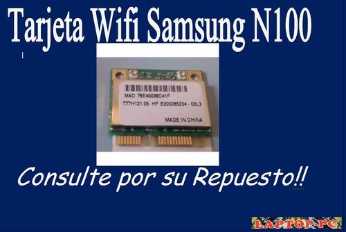 tarjeta wifi samsung n100