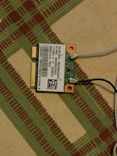 tarjeta wifi sony vaio modelo: sve11115elb