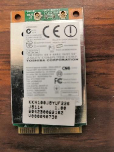 tarjeta wifi toshiba 6042b0062102