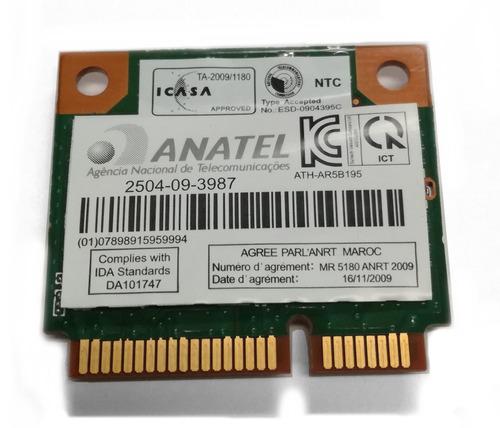 tarjeta wifi toshiba l735-sp3264rm