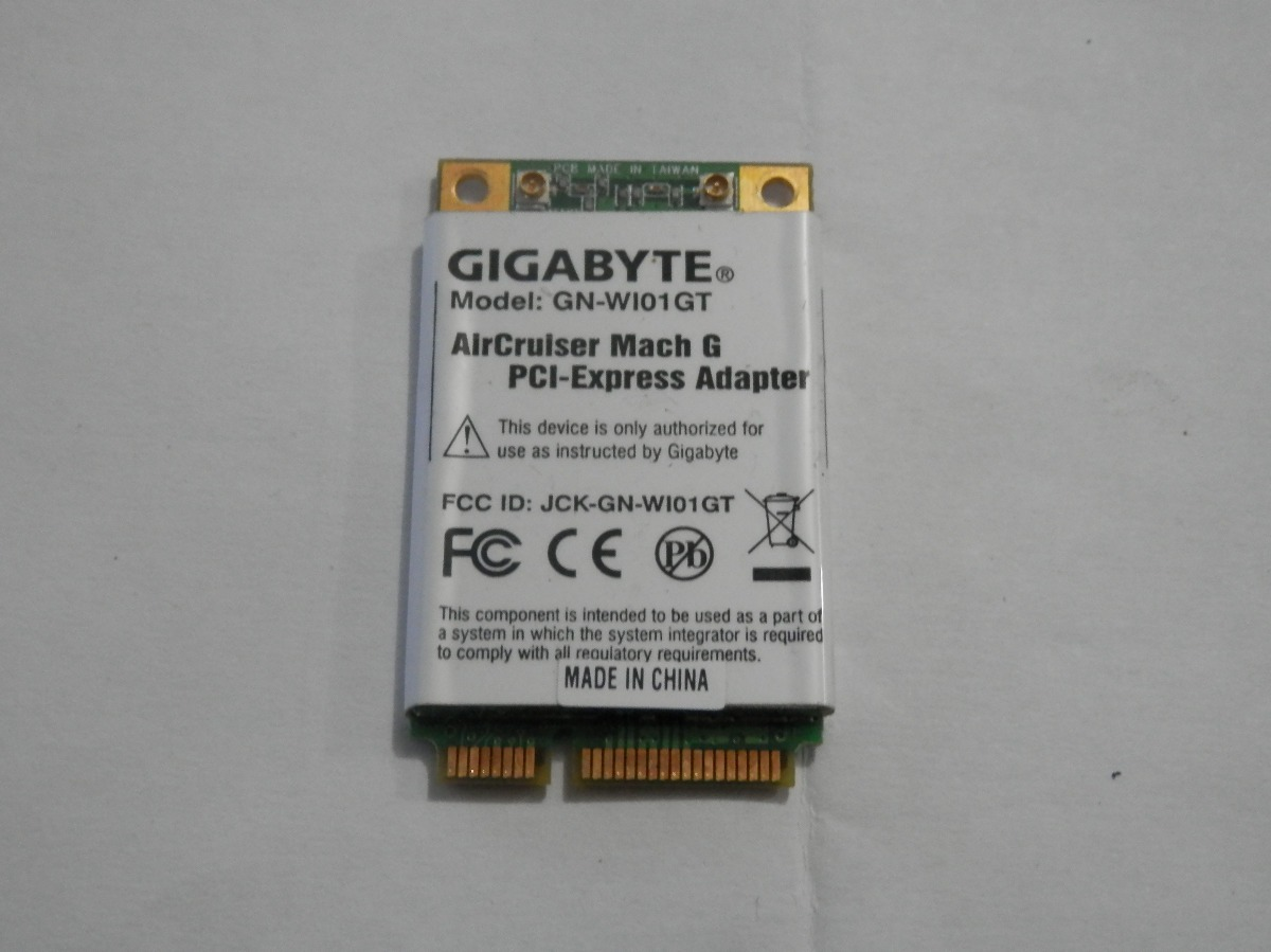 GIGABYTE WIRELESS GN-WP01GT DRIVER DOWNLOAD FREE
