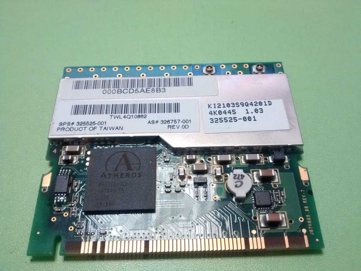 HP Compaq nc6000 Notebook Atheros WLAN 64 BIT Driver