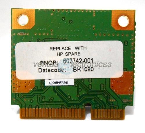 tarjeta wireless para comoaq cq10-420la ipp4