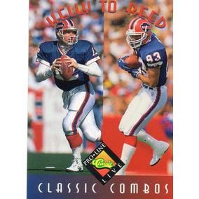 e179ab9ec4aac 1994 Pro Line Live Classic Combos Jim Kelly Andre Reed Bills
