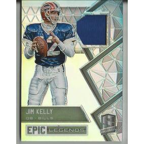 4ccbed3fc9136 2016 Panini Spectra Legends Jersey Jim Kelly Qb Bills  49