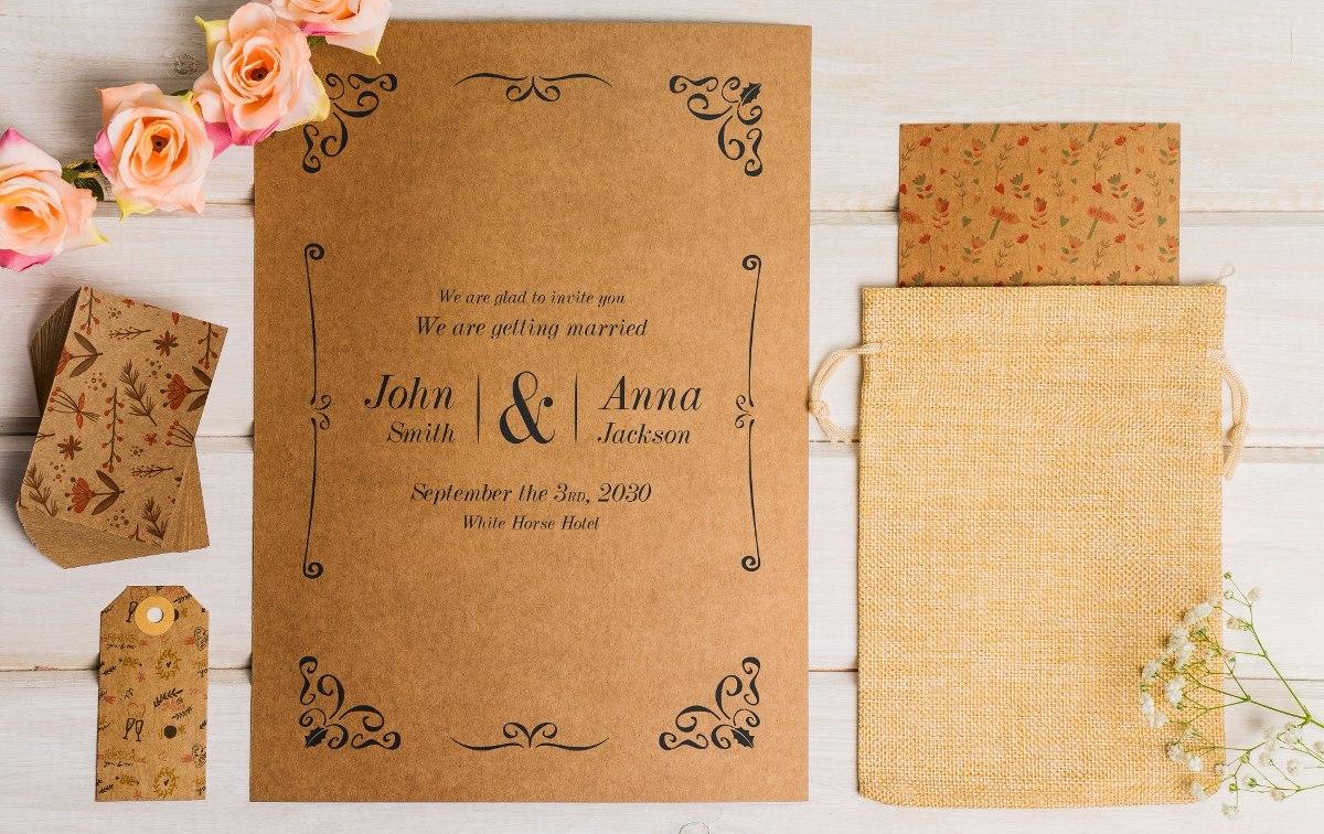 Tarjetas 3d Casamiento Boda Invitaciones C Sobre Originales