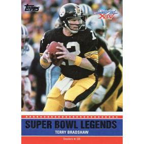 e75ec6b1ca210 2011 Topps Super Bowl Legends X I V Terry Bradshaw Steelers
