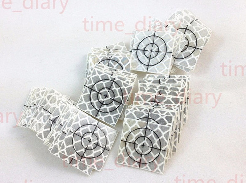 tarjetas adhesivas reflectivas (10) de 30x30 mm