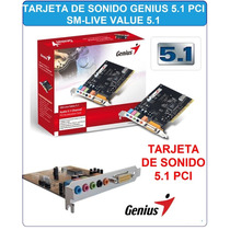 Genius Tarjeta Audio Chanel 5.1