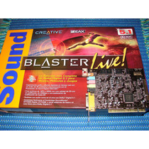 Creative Soundblaster - Live! Digital 5.1 (modelo Sb0060)