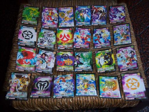 tarjetas bakugan battle brawlers . coleccionables