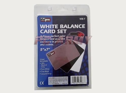 tarjetas balance blancos para