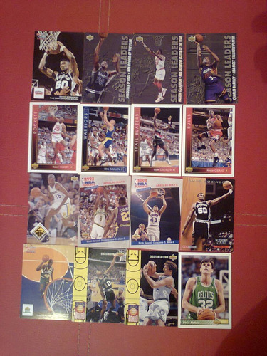 tarjetas basketball nba 1990 a 1994 upper deck envio gratis!