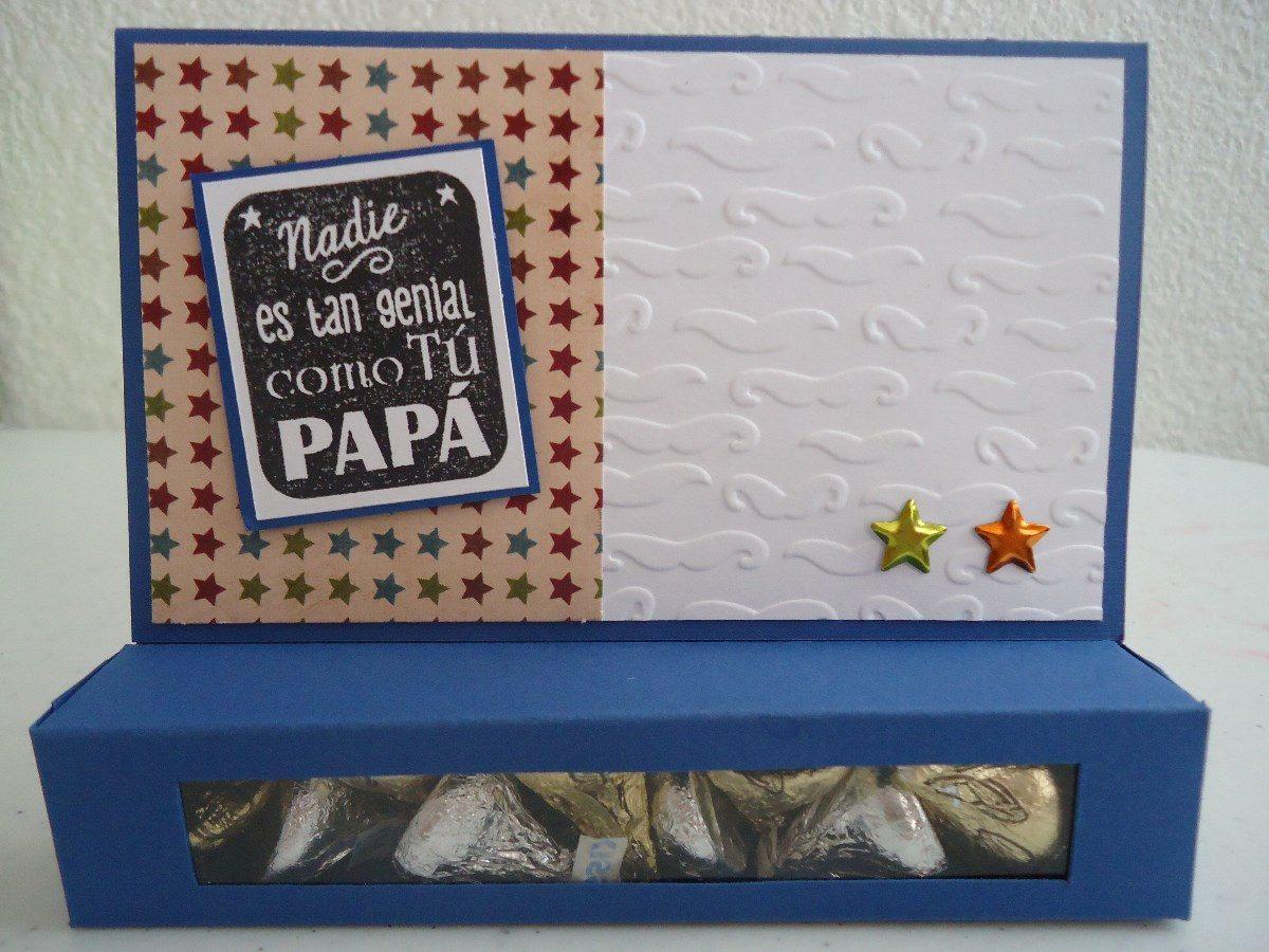 tarjetas cchocolates originales para pap dia del padre
