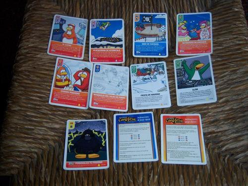 tarjetas club penguin disney . coleccionables