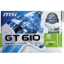 Tarjeta De Video Ge Force Gt610 2gb Ddr3 (tienda Fisica)
