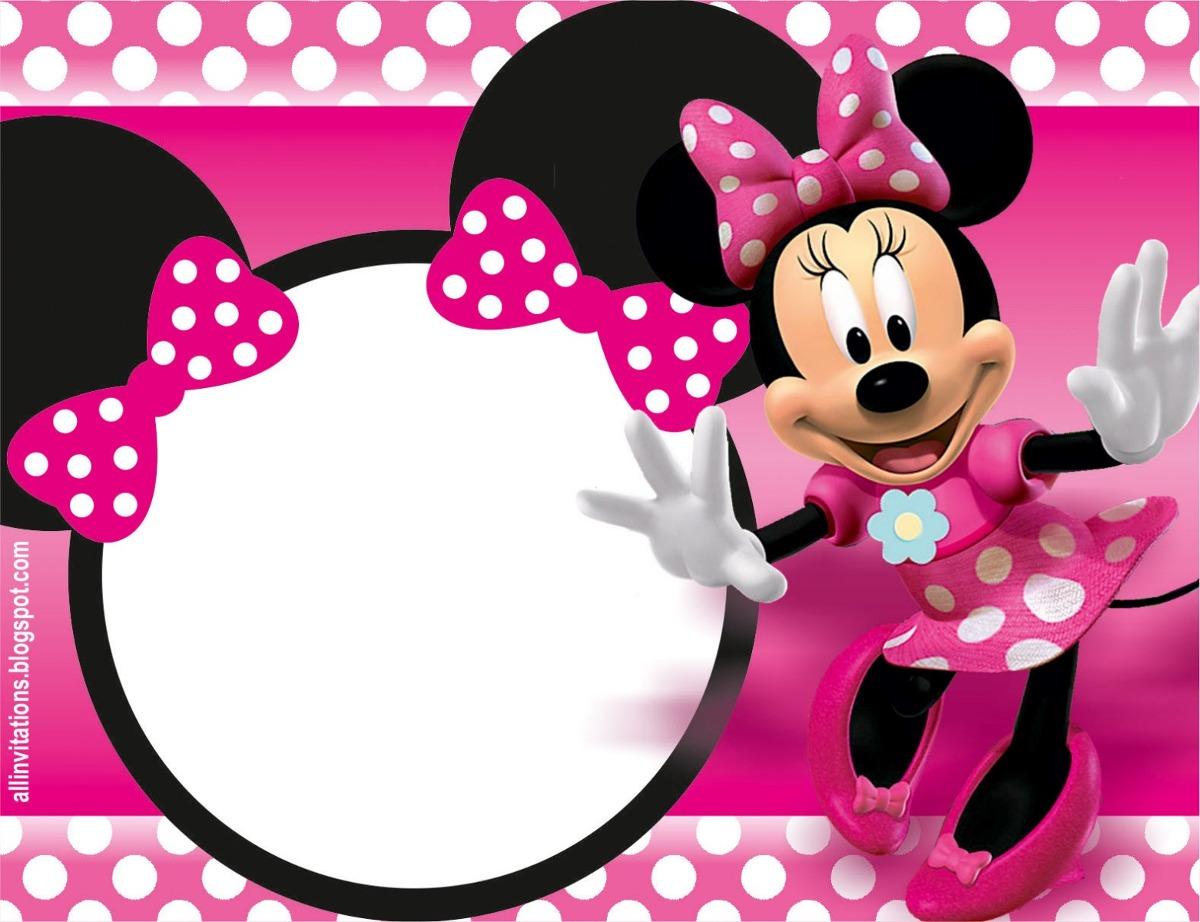 Tarjetas cumplea os minnie mouse o minnie beb 45 00 - Cumpleanos minnie mouse ...
