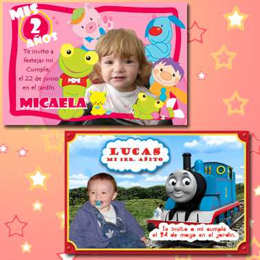 tarjetas cumpleaños souvenir