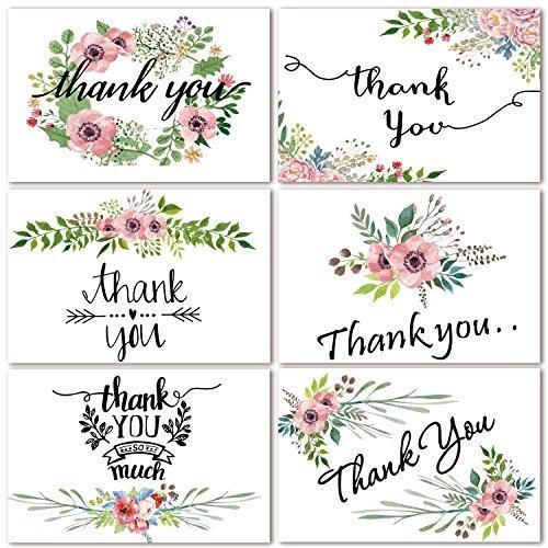 tarjetas de agradecimiento tarjetas de felicitación de flor