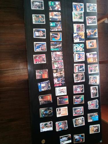 tarjetas de basket,  de nba,finales 80's y 90's, mas de  250