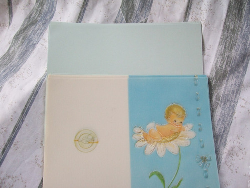 tarjetas de bautizo para niños, impresión en tipografia.