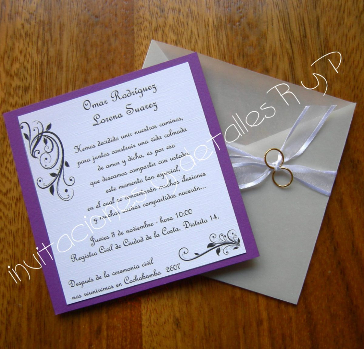 tarjetas de bodas o aniversario