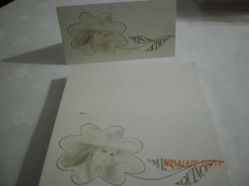 tarjetas de cumpleaños de 15 lote de 100 uni. envio gratis