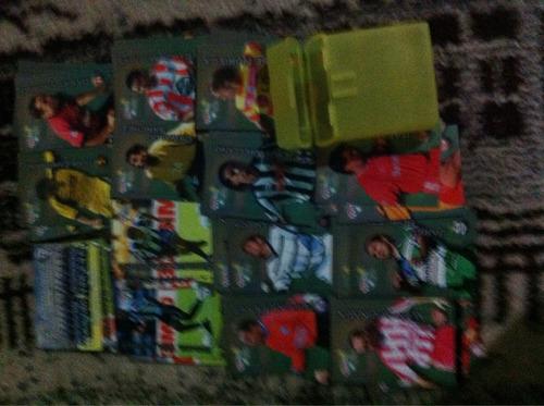 tarjetas de fútbol mexicano edición pachuca campeón son 54