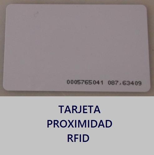 tarjetas de identificacion rfid clamshell de 125 khz.