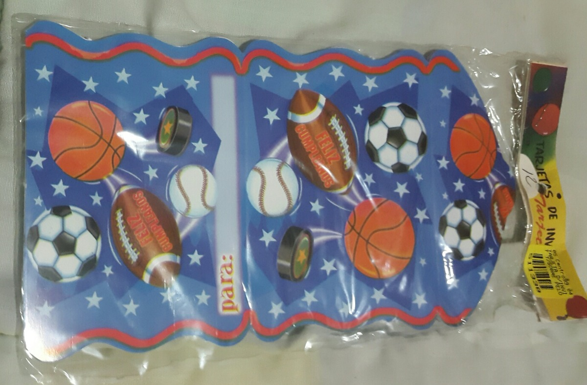 Tarjetas De Invitación A Fiestas Infantiles Fútbol
