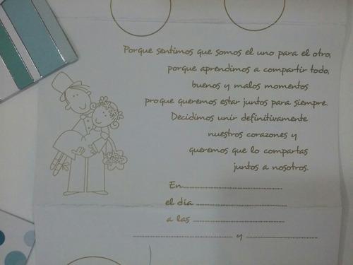 tarjetas de invitacion casamiento comics b/n - pack x 10