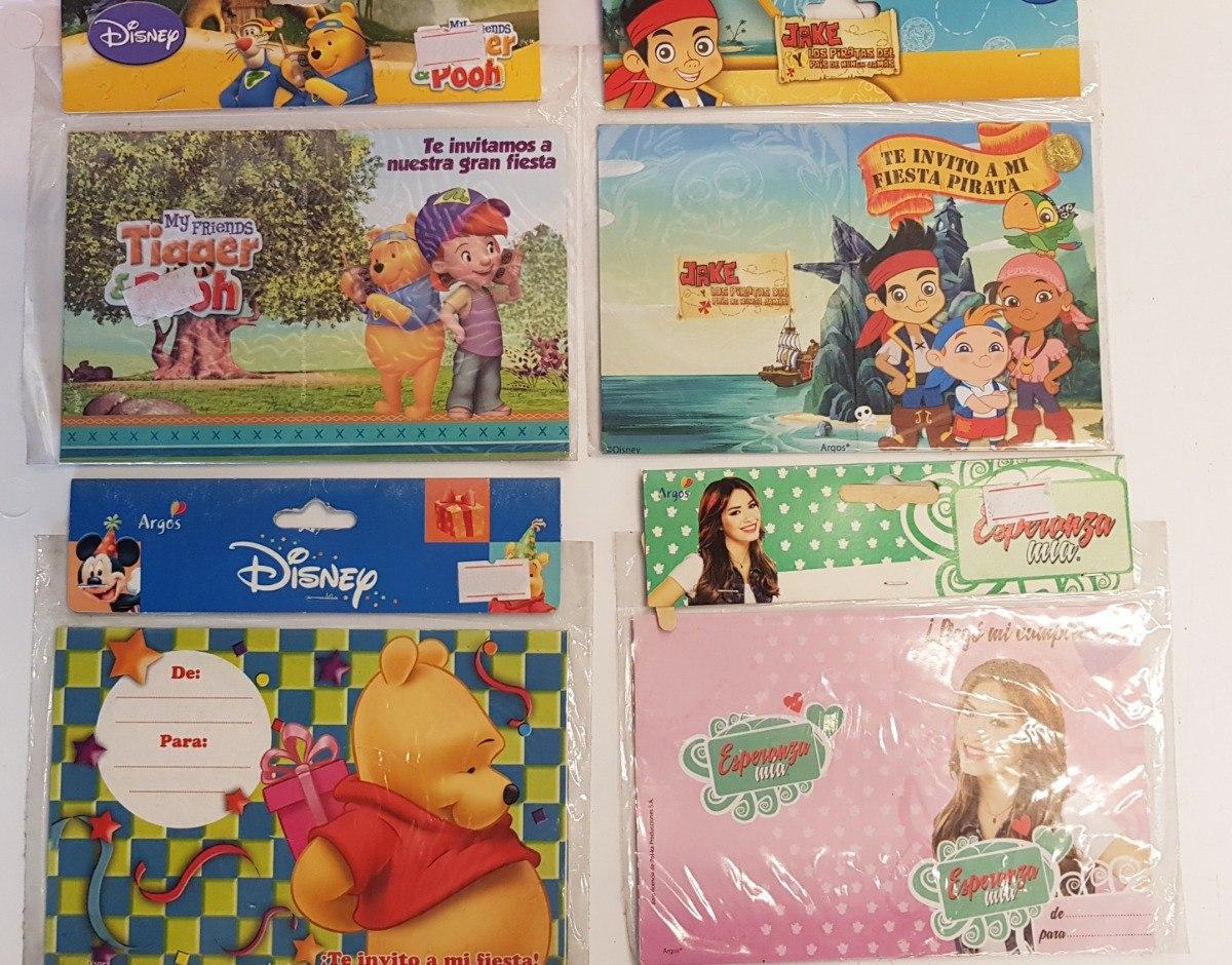 Tarjetas De Invitación Cumpleaños Niños Infantiles X 3130u