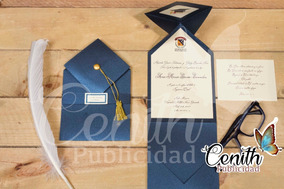Tarjetas De Invitación De Graduación