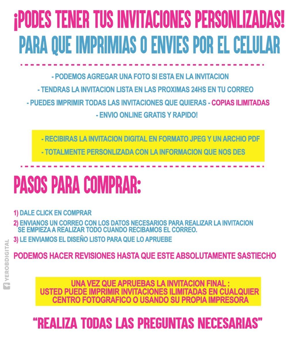 Tarjetas De Invitacion Digital El Increible Hombre Araña