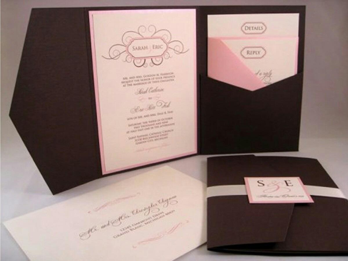 tarjetas de invitacin elegantes boda quinceaos bautizos